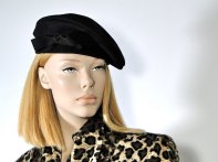 SueEllensFlair Womens 1940s Beret Hat