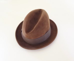 Vintagietta ~ Guilliani Gallieni Brown Felt Men's Hat