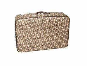 VintageMeetModern ~ Christian Dior Logo Jet Setter Suitcase