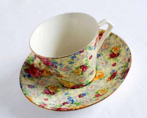 QuaintCollector ~ Lord Nelson China Tea Cup and Saucer Bone China