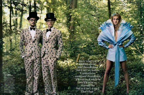 Alice in Wonderland editorial by Annie Leibovitz for Vanity Fair