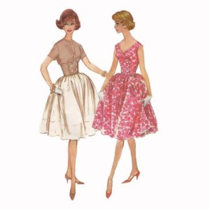 vintagepaige ~ 1960s McCalls 5417 Misses and Junior Dress Pattern Size 11