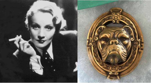 Vintageimagine ~ Joseff of Hollywood Bulldog Brooch/Pendant