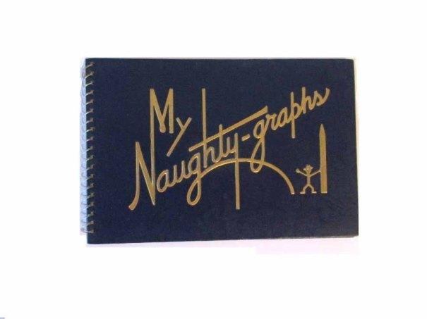 wonderdiva ~ My Naughty-graphs - 1944 -by Harold M. Sherman Autograph book
