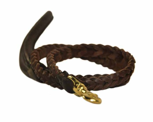 Dean & Tyler ~ Comfort Braid Rounded Dog Leash