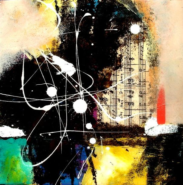 Abstract. Mixed Media by Al johnson Art Studio