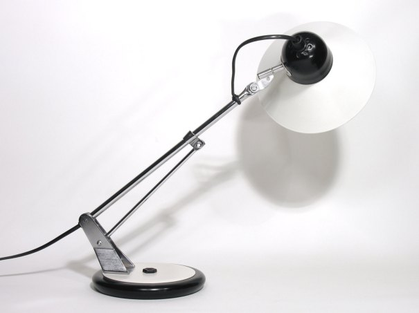 French Lamp Aluminor-Table Lamp