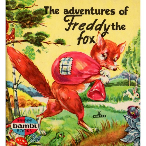The Adventures of Freddy the Fox at BessieAndMaive on etsy