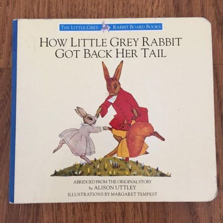 A Little Grey Rabbit Board Book by Aliso Nuttley -1985 at NorCal Vintage on Instagram