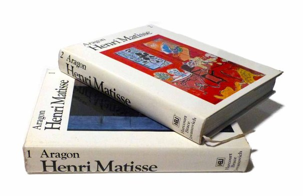 1972 Henri Matisse a Novel Volume I and II at seasidecollectibles