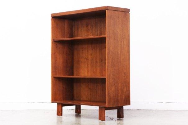 At VintageSupplyLA on etsy Mid Century Walnut Bookshelf