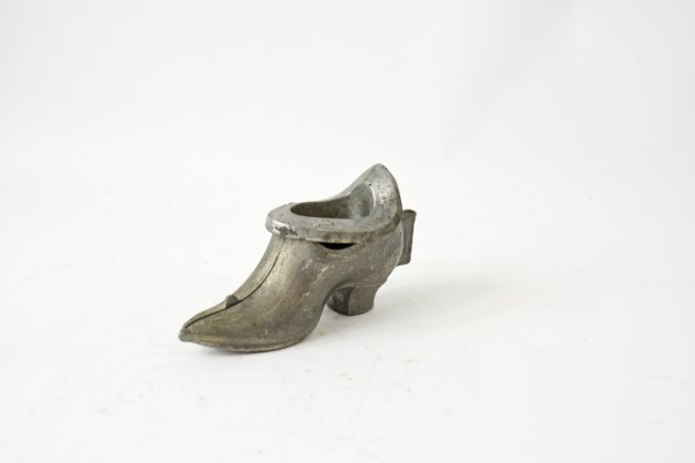 Eppelsheimer Victorian Pewter Ice Cream Shoe Mold at Vintassentials